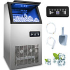 US 150LB Built-In Commercial Ice Maker Undercounter Freestand Ice Cube Machine photo