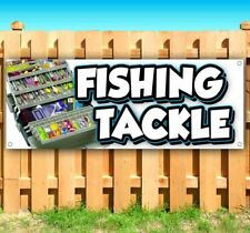 New Listingfishing Tackle Advertising Vinyl Banner Flag Sign Many Sizes Bait Lure