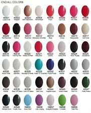 CND SHELLAC Power Polish UV Gel Nail Color Coat -PICK YOUR COLOR- NEW FULL SIZE!