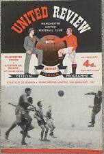 More details for manchester united v atletico de bilbao 1956/57