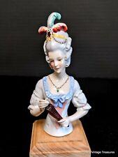 Antique Pincushion Half Doll, Germany, STUNNING