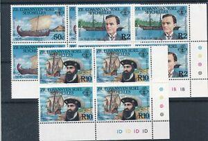 [21218] Seychelles 1985 4x good set very fine MNH stamps