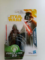 Star Wars Darth Vader Force Link 2.0 Action Figure 2017 make  3.75""