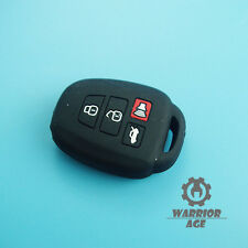 Qty1 Black Silicone Remote Key Shell Cover Case FOB 4B for Toyota Camry 2012 13