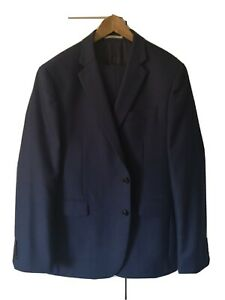Chester by Chester Barrie Navy Blue 2 Piece Suit  44R