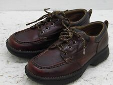 VTG MENS CAROLINA  WORK LEATHER BROWN SHOES  SIZE 8.5 D