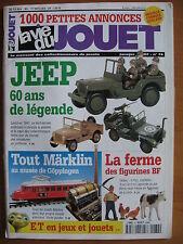 LA VIE DU JOUET N°74 JEEP / MARKLIN / BF / FRANCE JOUET / E.T./ DELAGE JEP