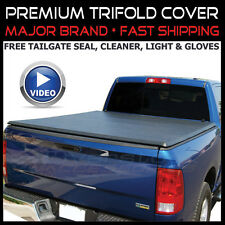 09-2017 Dodge Ram Crew Cab 5'7 5'8 Bed Tri-Folding Pro Tonneau Tonno Tuck Cover