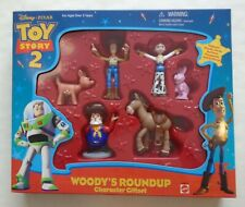 Sealed TOY STORY 2 Woody's Roundup Character Giftset Woody Jessie Bullseye