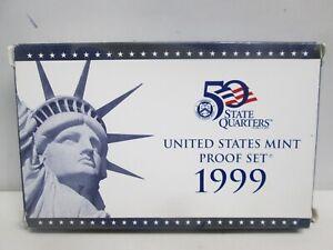1999 US MINT PROOF SET