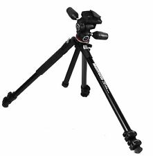 Excellent: Manfrotto - 290 Tripod with MH804-3W 3-Way Pan/Tilt Head - Black