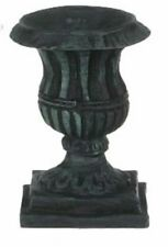 Dollhouse Miniature Large Urn in Black by Falcon Miniatures