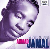 Ahmad Jamal - Milestones of a Legend (2017)  10CD Box Set  NEW  SPEEDYPOST