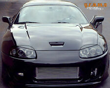 Toyota Supra 3 Types Carbon Fiber Headlight Eyebrows Eyelids Covers, Styling V6