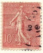 1903 10 Centimes Semeuse Lignée Stamp From France Yt:FR129 Mi:FR108x Sn:FR138
