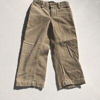 American Living Little Boy Dress Pants Bottoms Tan Beige Corduroy Holiday 3T
