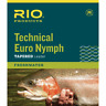RIO TECHNICAL EURO NYMPH 14' FT 2X/4X PINK & YELLOW NYLON FLY FISHING LEADERS