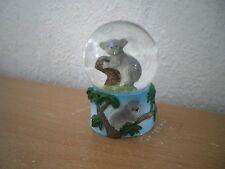 """Kleine Schneekugel """"Koala"""" (Kunstharz/Glas) / Small Snow Globe """"Koala"""""""