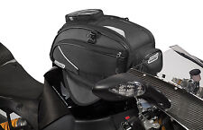 Rapid Transit Recon 19 Motorcycle Tank Bag Magnetic Black/Gun Metal 659-5001
