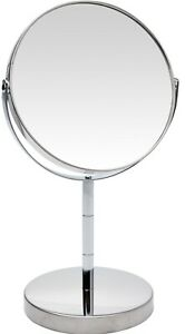 Magnifying Makeup Mirror - 2x Magnification Dual Sided Bathroom Shaving Vanity