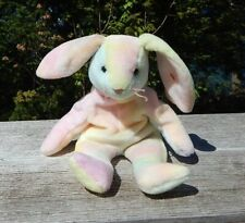TY Beanie Baby - HIPPIE the Rabbit - RETIRED, ERRORS, TIE-DYE - Original 1998