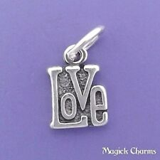 .925 Sterling Silver LOVE Charm Miniature - elp625
