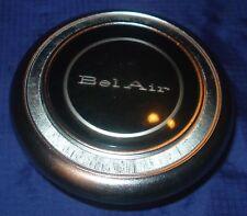 BH063 1967 67 Chevrolet Chevy Chev BelAir Horn Button Steering Wheel Center Cap