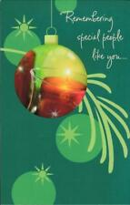 Christmas Greeting Card, REMEMBERING SPECIAL PEOPLE LIKE YOU...