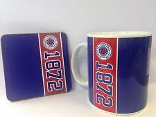 Rangers FC Mug and Coaster Set