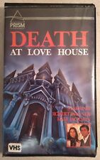 Death At Love House - 1975 Clamshell VHS - Wagner - Supernatural Mystery - Prism