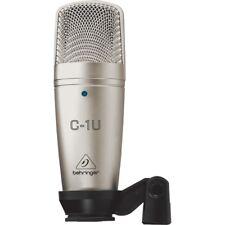 BEHRINGER C-1U USB microfono professionale a condensatore per studio live NUOVO