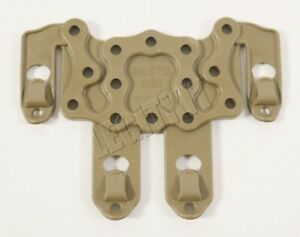 Blackhawk SERPA Holster Ambidextrous STRIKE MOLLE Platform Coyote Tan 38CL63CT