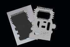 Airbrush Schablone Step by Step / Stencil / Elektonik / 0608 Platine 1