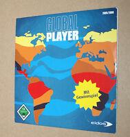 Global Player Eidos Promo CD Tomb Raider Legends Total Overdose Hitman etc
