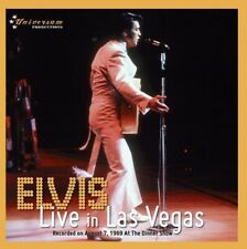 ELVIS PRESLEY - LIVE IN LAS VEGAS  -  Universum Label