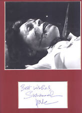 Susannah York signed page + the Howling pic in  display UACCRD Retirement Sale