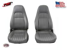 1997- 02 Camaro Highback Seat Upholstery Made by TMI in the US, Dark Grey