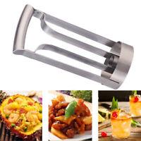Stainless Pineapple Slicer Cutter Peeler Fruit Corer Gadget Kitchen Convenient