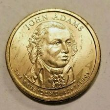 John Adams Presidential Dollar 2007-D $1 Gold Coin Circulated Ungraded