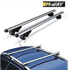 M-Way toit barres transversales de Verrouillage Hayon Alu Pour Land Rover Freelander 1998-2012