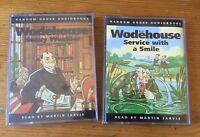 2 x PG Wodehouse Audiobooks Cassettes - Heavy Weather (Sealed) Service...Smile
