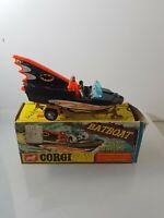 CORGI 107 BATBOAT AND TRAILER              P/27