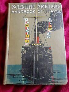 Scientific American Handbook of Travel 1911 Guide Ceuise Ships Maps
