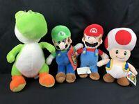 Super Mario Bros Nintendo Plush Stuffed Toys Licensed By Good Stuff Lot