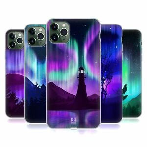 HEAD CASE DESIGNS NORTHERN LIGHTS GEL CASE & WALLPAPER FOR APPLE iPHONE PHONES