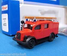 Roco H0 4003 MERCEDES BENZ LF 8 Löschgruppenfahrzeug Feuerwehr MB HO 1:87 OVP