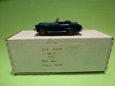 METAL BUILT KIT METAL MODELS  MG MIDGET MK3  1:43 - RARE SELTEN - GOOD IN BOX