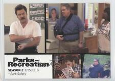 2013 Press Pass Parks and Recreation Seasons 1-4 #25 Park Safety Card 2a1