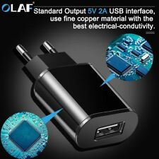 Universal EU Plug USB Fast Charger Mobile Phone Wall Travel Power Adapter 5V 2A