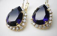 Pendientes  Elegance Purple Velvet  Swarovski